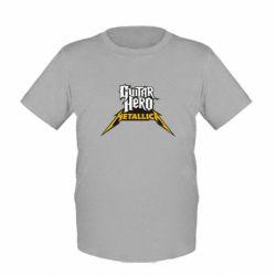 Детская футболка Guitar Hero Metallica - FatLine