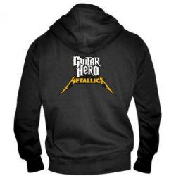 Мужская толстовка на молнии Guitar Hero Metallica - FatLine