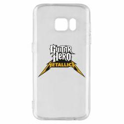 Чехол для Samsung S7 Guitar Hero Metallica - FatLine