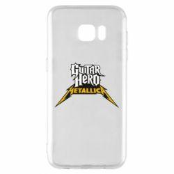 Чехол для Samsung S7 EDGE Guitar Hero Metallica - FatLine