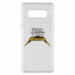 Чехол для Samsung Note 8 Guitar Hero Metallica - FatLine