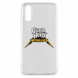 Чехол для Huawei P20 Guitar Hero Metallica - FatLine