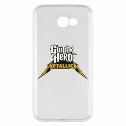 Чехол для Samsung A7 2017 Guitar Hero Metallica - FatLine