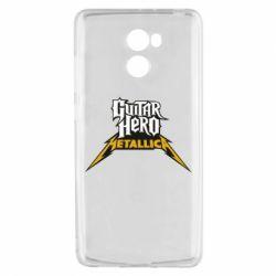 Чехол для Xiaomi Redmi 4 Guitar Hero Metallica - FatLine