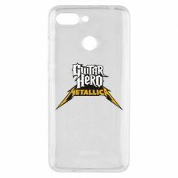 Чехол для Xiaomi Redmi 6 Guitar Hero Metallica - FatLine