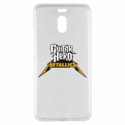 Чехол для Meizu M6 Note Guitar Hero Metallica - FatLine