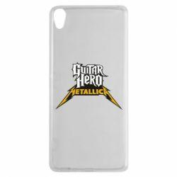 Чехол для Sony Xperia XA Guitar Hero Metallica - FatLine