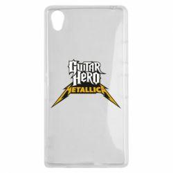 Чехол для Sony Xperia Z1 Guitar Hero Metallica - FatLine