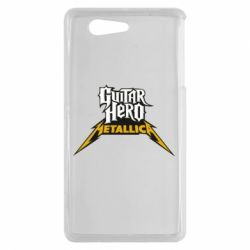 Чехол для Sony Xperia Z3 mini Guitar Hero Metallica - FatLine