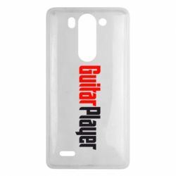 Чехол для LG G3 mini/G3s Guitar Player - FatLine