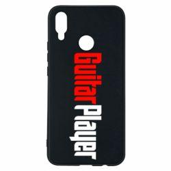 Чехол для Huawei P Smart Plus Guitar Player - FatLine