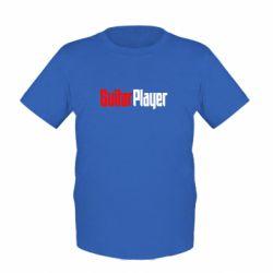 Детская футболка Guitar Player - FatLine