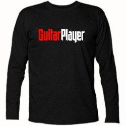 Футболка с длинным рукавом Guitar Player - FatLine