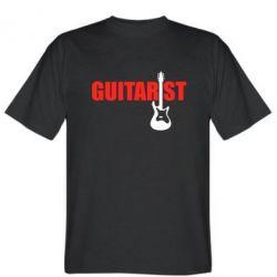 Мужская футболка Guitarist - FatLine