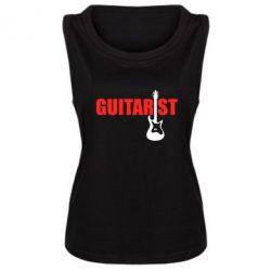Женская майка Guitarist - FatLine