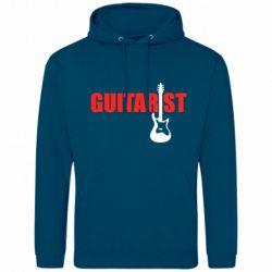 Мужская толстовка Guitarist - FatLine