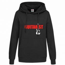 Женская толстовка Guitarist - FatLine