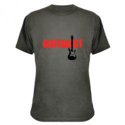 Камуфляжная футболка Guitarist - FatLine
