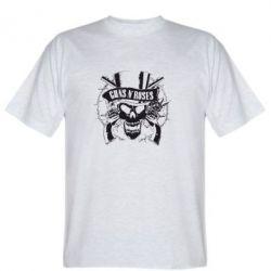 Мужская футболка Guns n' Roses Logo - FatLine