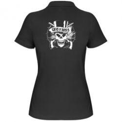 Женская футболка поло Guns n' Roses Logo - FatLine