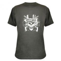 Камуфляжная футболка Guns n' Roses Logo - FatLine