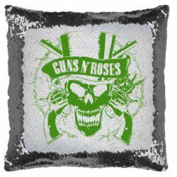 Подушка-хамелеон Guns n' Roses Logo