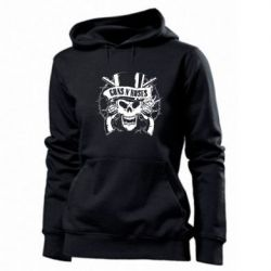 Женская толстовка Guns n' Roses Logo - FatLine