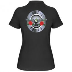 Женская футболка поло Guns n' Roses - FatLine