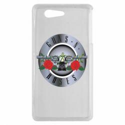 Чехол для Sony Xperia Z3 mini Guns n' Roses - FatLine