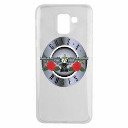 Чехол для Samsung J6 Guns n' Roses - FatLine