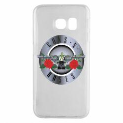 Чехол для Samsung S6 EDGE Guns n' Roses - FatLine
