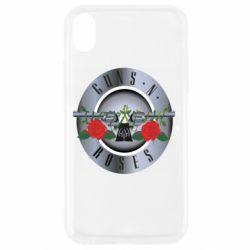Чехол для iPhone XR Guns n' Roses - FatLine
