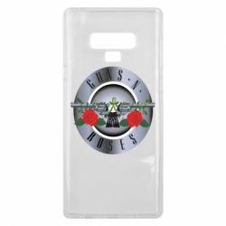 Чехол для Samsung Note 9 Guns n' Roses - FatLine