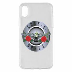 Чехол для iPhone X Guns n' Roses - FatLine