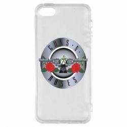 Чехол для iPhone5/5S/SE Guns n' Roses - FatLine