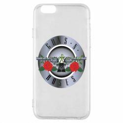 Чехол для iPhone 6/6S Guns n' Roses - FatLine