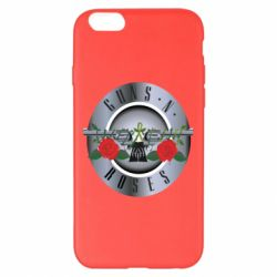 Чехол для iPhone 6 Plus/6S Plus Guns n' Roses - FatLine