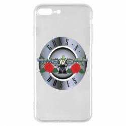 Чехол для iPhone 7 Plus Guns n' Roses - FatLine