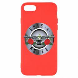 Чехол для iPhone 8 Guns n' Roses - FatLine