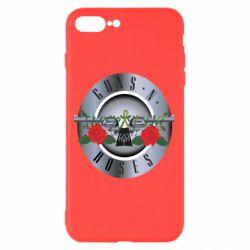 Чехол для iPhone 8 Plus Guns n' Roses - FatLine