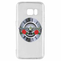 Чехол для Samsung S7 Guns n' Roses - FatLine