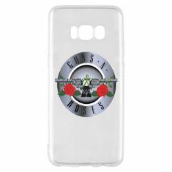 Чехол для Samsung S8 Guns n' Roses - FatLine
