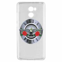 Чехол для Xiaomi Redmi 4 Guns n' Roses - FatLine
