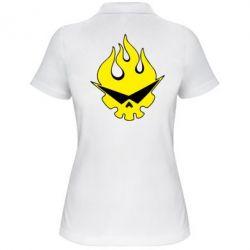 Женская футболка поло Gurren Lagann - FatLine