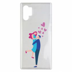 Чохол для Samsung Note 10 Plus Guy and girl happiness