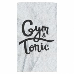 Рушник Gym and Tonic