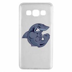 Чохол для Samsung A3 2015 Gym Shark