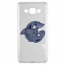 Чохол для Samsung A5 2015 Gym Shark