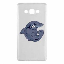 Чохол для Samsung A7 2015 Gym Shark