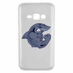 Чохол для Samsung J1 2016 Gym Shark